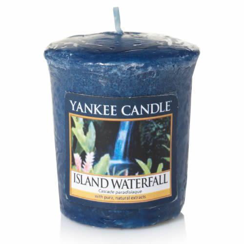 Votivní svíčka Yankee Candle Island Waterfall 49g