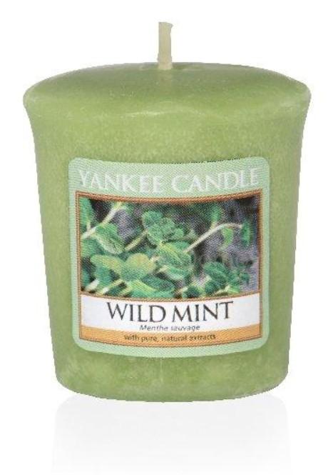 Votivní svíčka Yankee Candle Wild Mint 49g