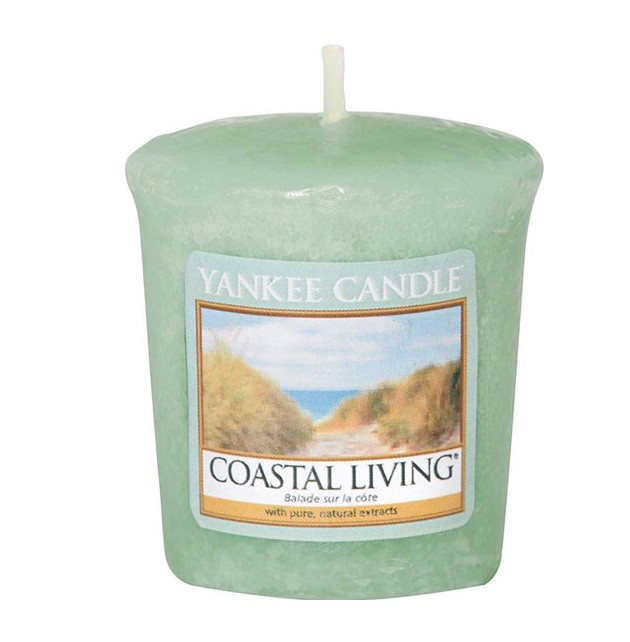 Votivní svíčka Yankee Candle Coastal Living 49g