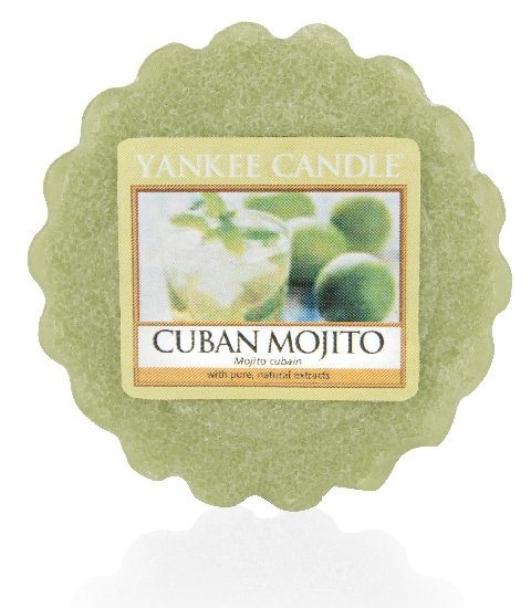Vonný vosk Yankee Candle Cuban Mojito 22g