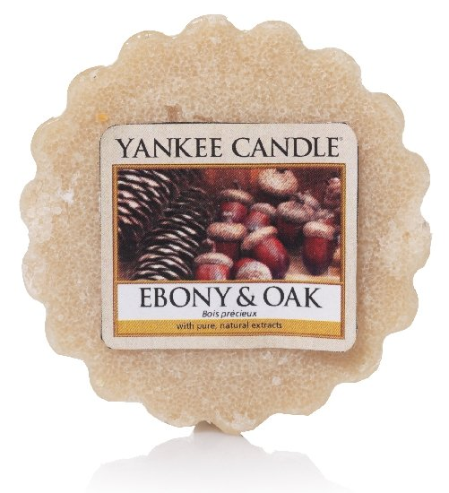 Vonný vosk Yankee Candle Ebony & Oak 22g