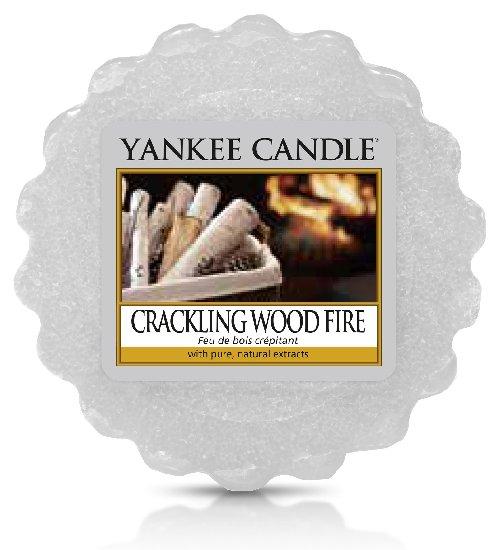 Vonný vosk Yankee Candle Crackling Wood Fire 22g