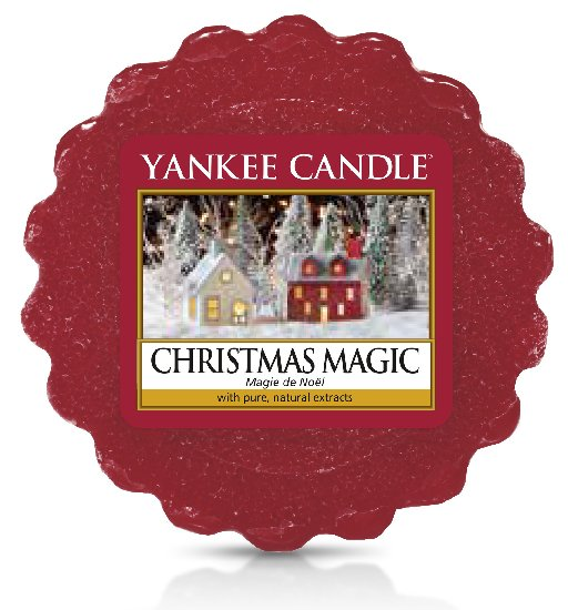 Vonný vosk Yankee Candle Christmas Magic 22g
