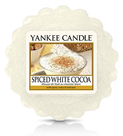Vonný vosk Yankee Candle Spiced White Cocoa 22g