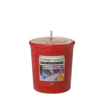 Votivní svíčka Yankee Candle Spiced Winter Berries 49g