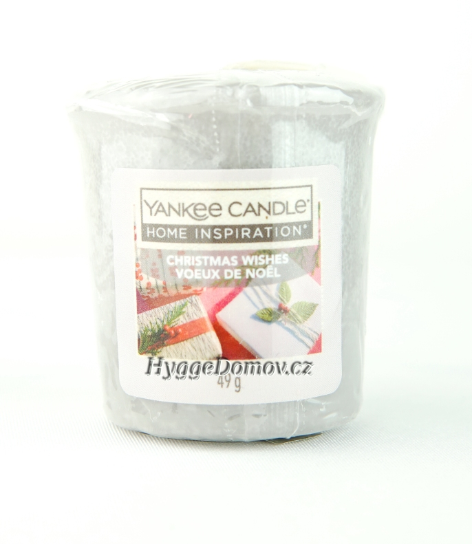 Votivní svíčka Yankee Candle Christmas Wishes 49g