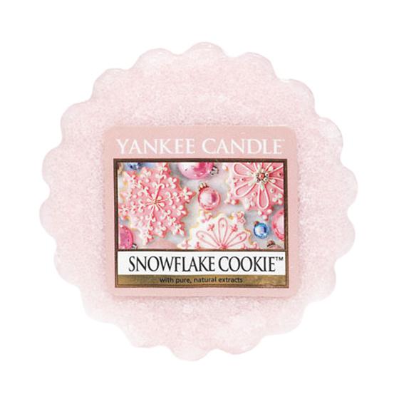 Vonný vosk Yankee Candle Snowflake Cookie 22g