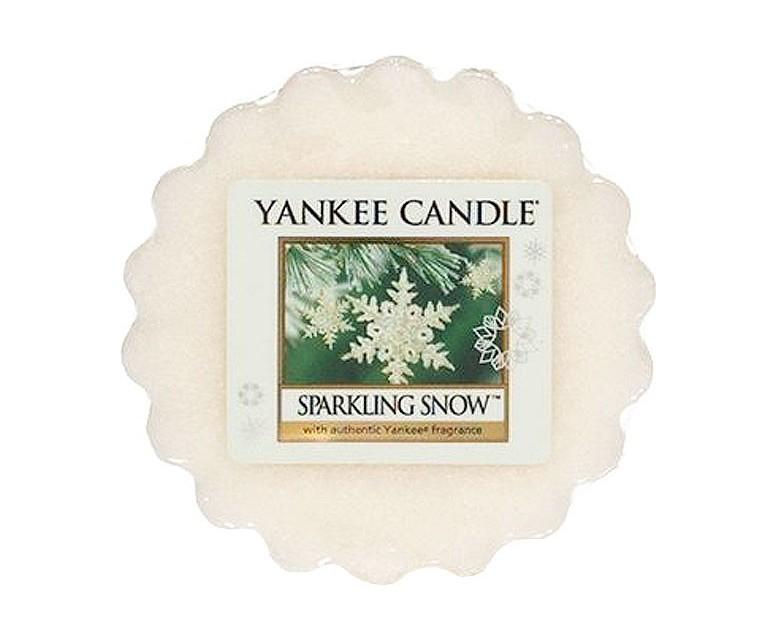 Vonný vosk Yankee Candle Sparkling Snow 22g