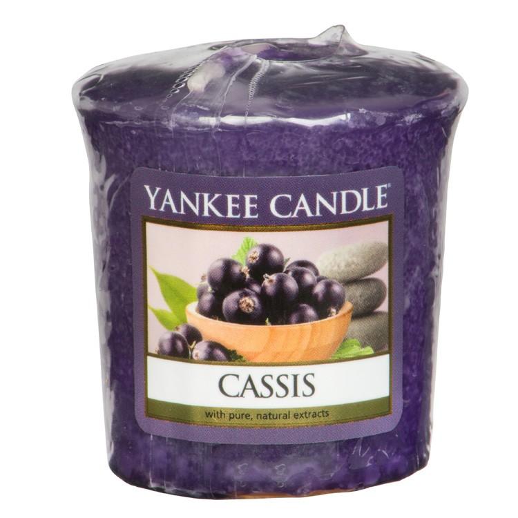 Votivní svíčka Yankee Candle Cassis 49g
