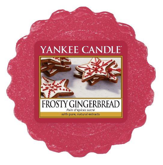 Vonný vosk Yankee Candle Frosty Gingerbread 22g