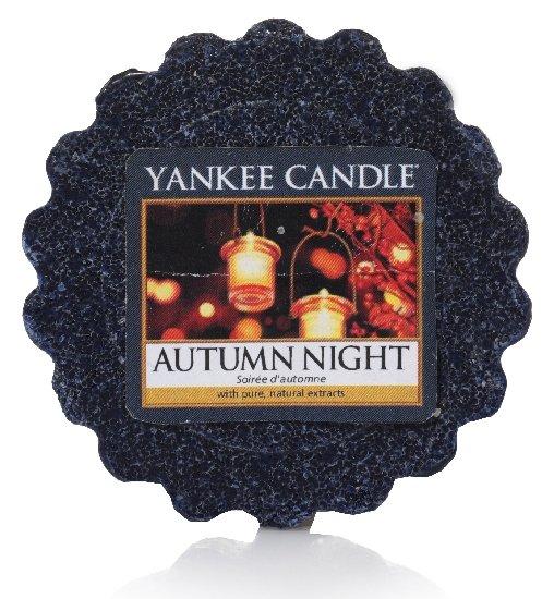 Vonný vosk Yankee Candle Autumn Night 22g