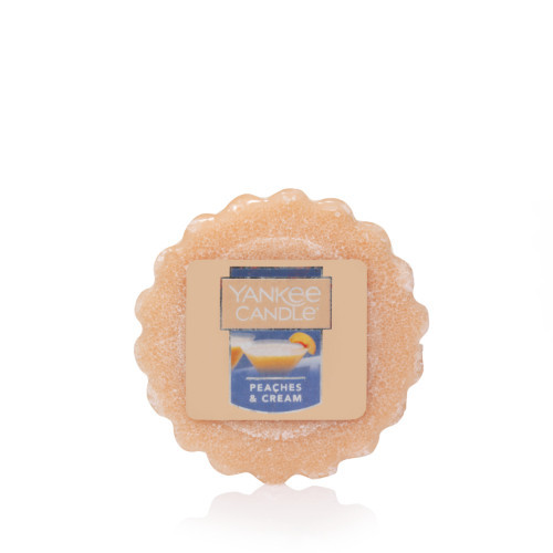 Vonný vosk Yankee Candle Peaches & Cream 22g