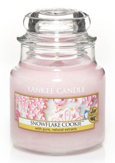 Vonná svíčka Yankee Candle Snowflake Cookie 104 g