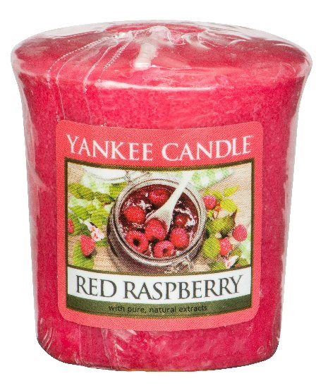 Votivní svíčka Yankee Candle Red Raspberry 49g