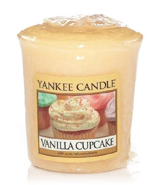 Votivní svíčka Yankee Candle Vanilla Cupcake 49g