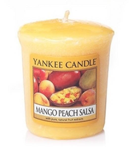 Votivní svíčka Yankee Candle Mango Peach Salsa 49g