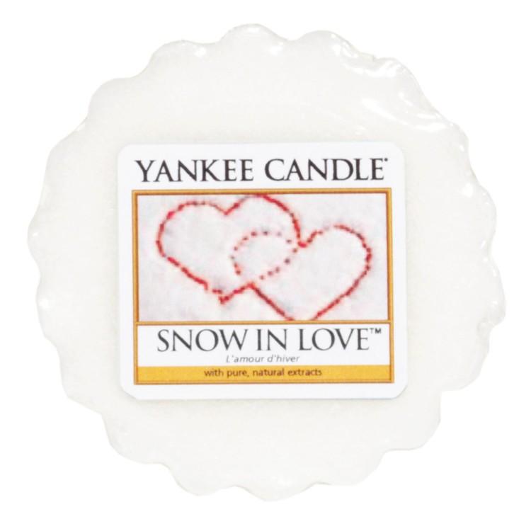 Vonný vosk Yankee Candle Snow in love 22g