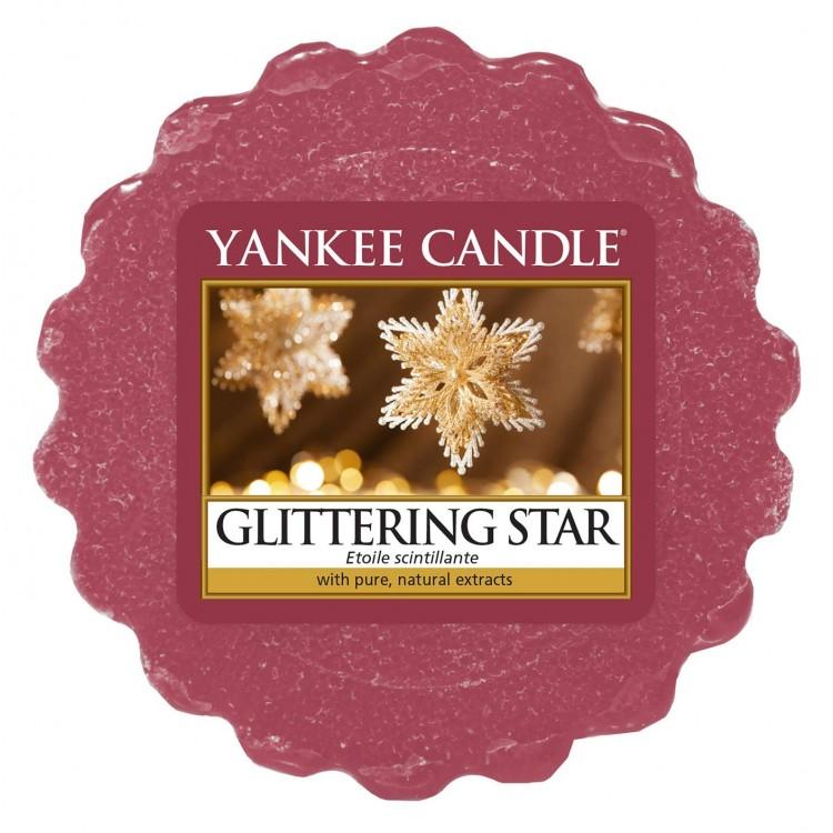 Vonný vosk Yankee Candle Glittering Star 22g