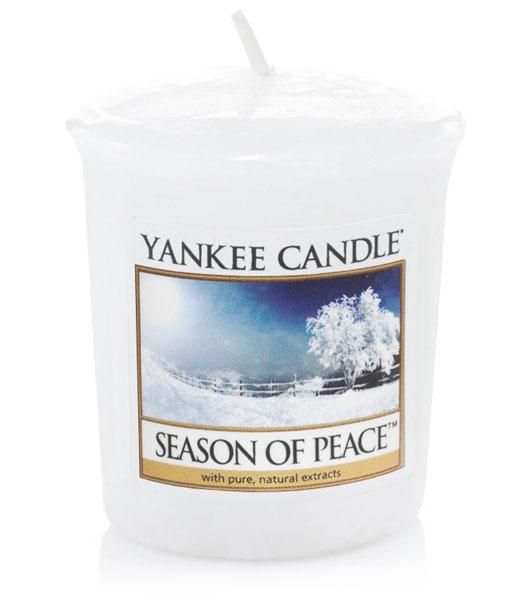Votivní svíčka Yankee Candle Season of Peace 49 g