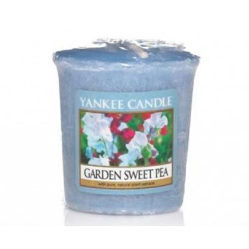 Votivní svíčka Yankee Candle Garden Sweet Pea 49g