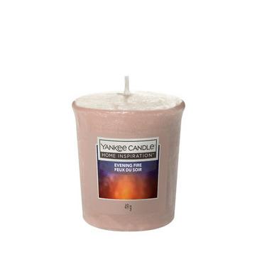 Votivní svíčka Yankee Candle Evening Fire 49g