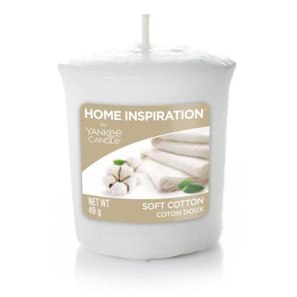 Votivní svíčka Yankee Candle Soft Cotton 49g