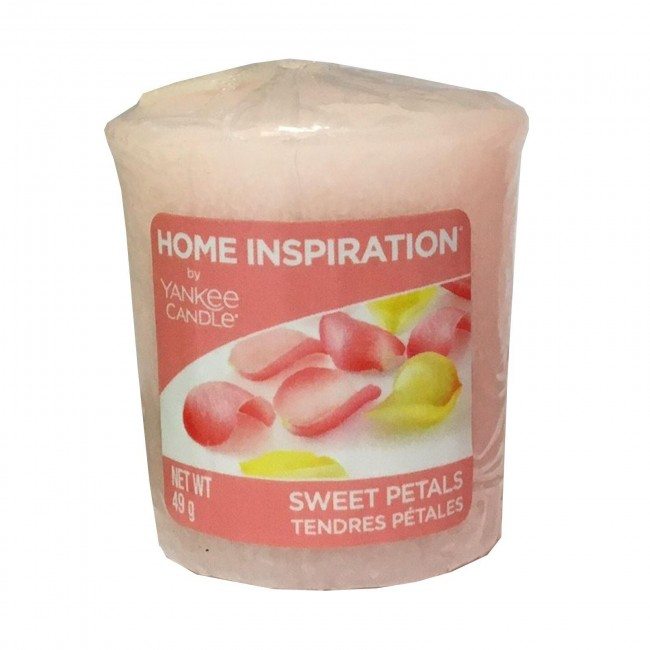 Votivní svíčka Yankee Candle Sweet Petals 49g