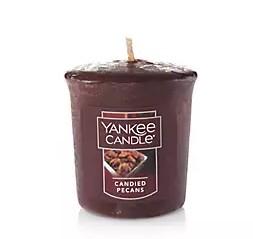 Votivní svíčka Yankee Candle Candied Pecans 49g
