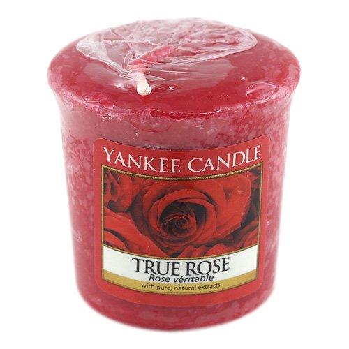 Votivní svíčka Yankee Candle True Rose 49 g
