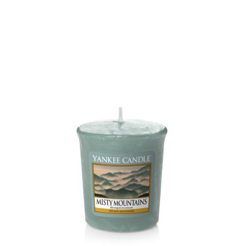 Votivní svíčka Yankee Candle Misty Mountains 49g