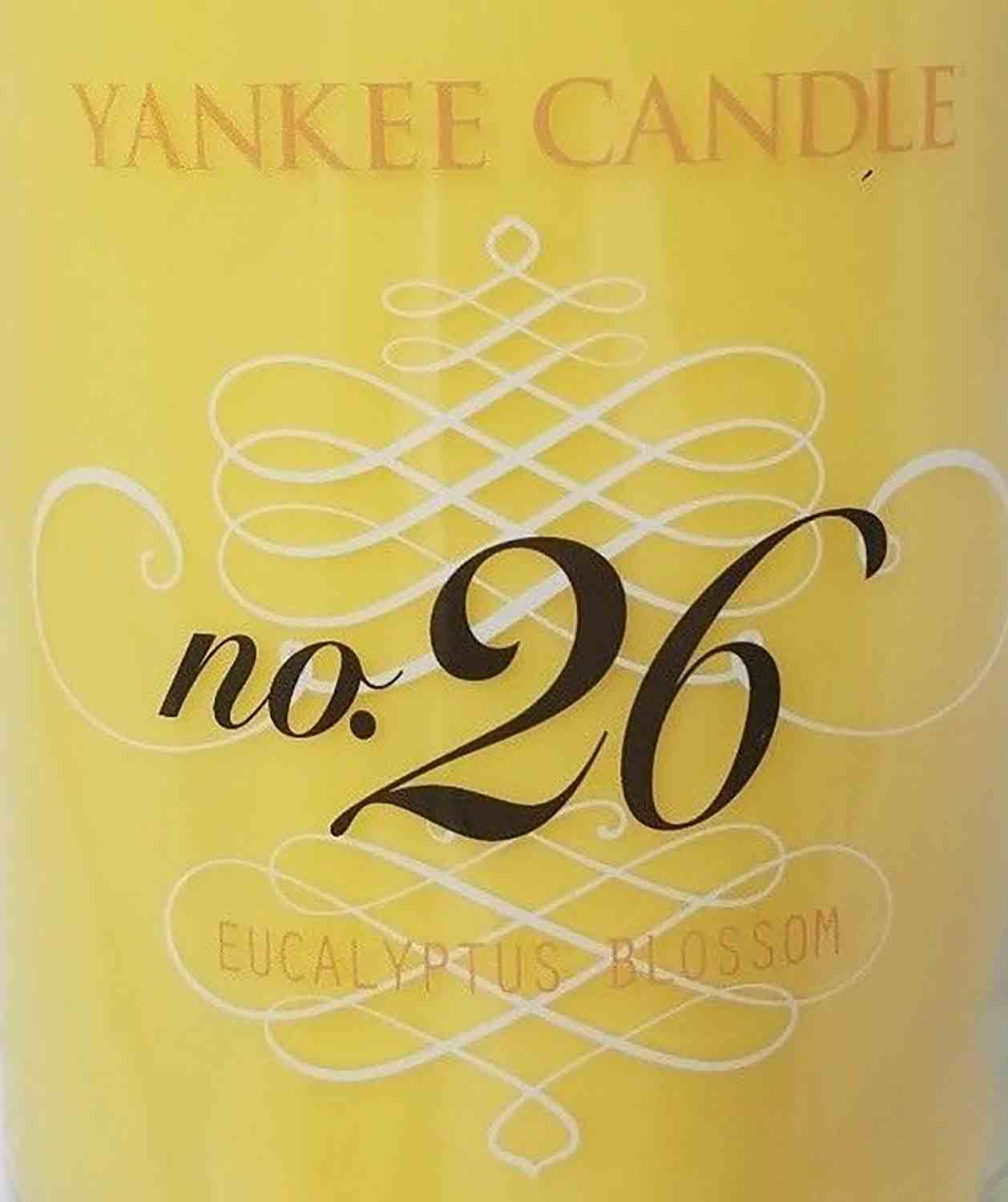 Crumble vosk Yankee Candle Eucalyptus Blossom no.26 USA 22 g