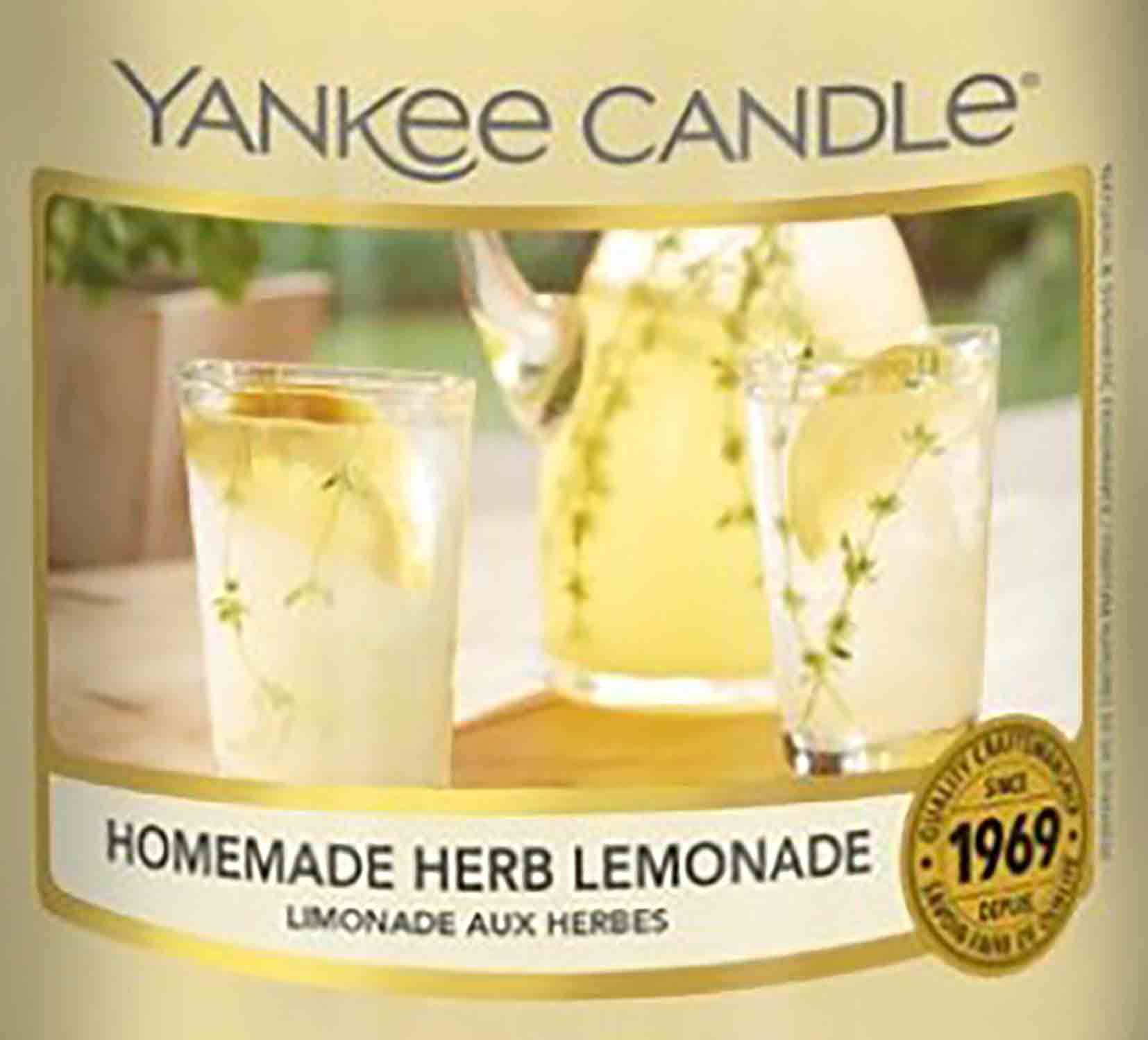 Crumble vosk Yankee Candle Homemade Herb Lemonade USA 22 g