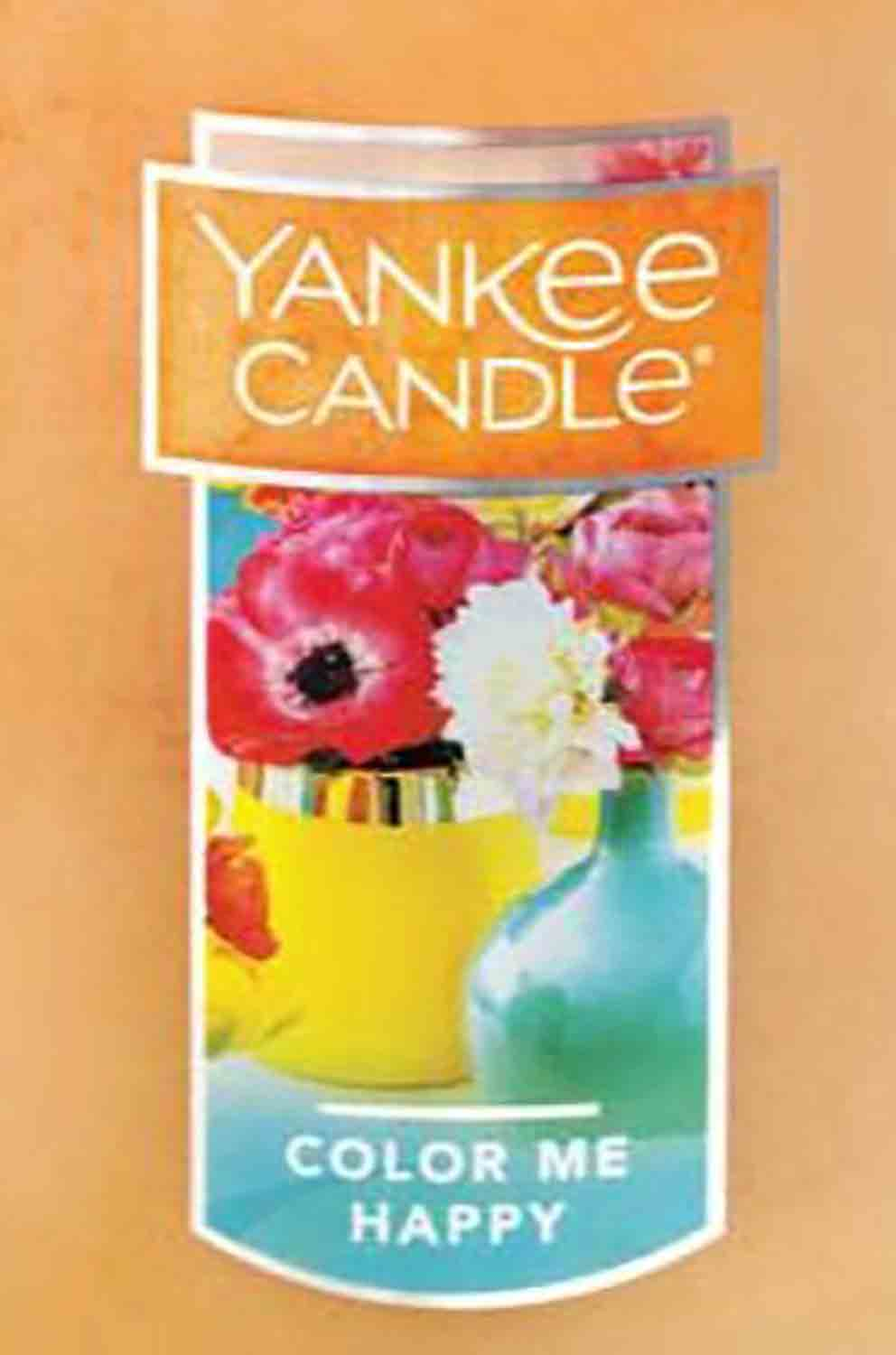 Crumble vosk Yankee Candle Color Me Happy USA 22 g