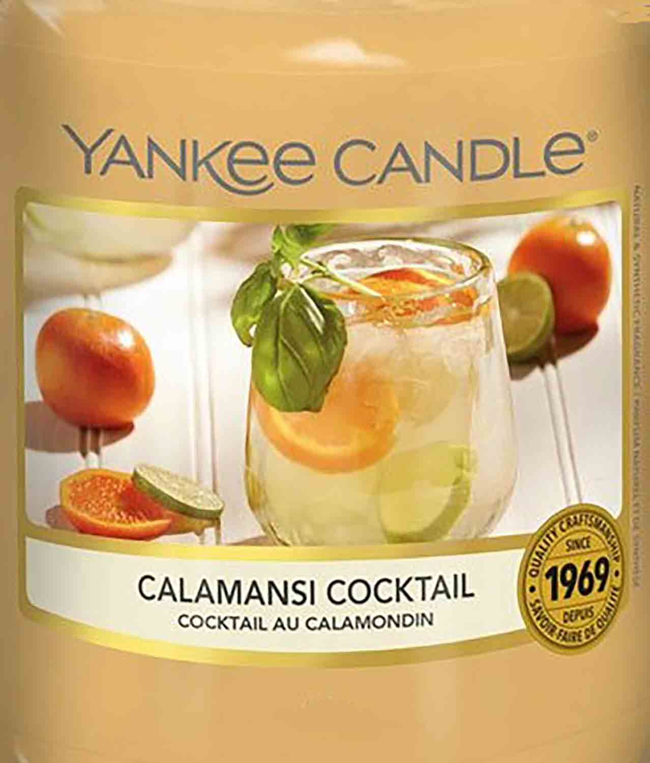 Crumble vosk Yankee Candle Calamansi Cocktail USA 22 g