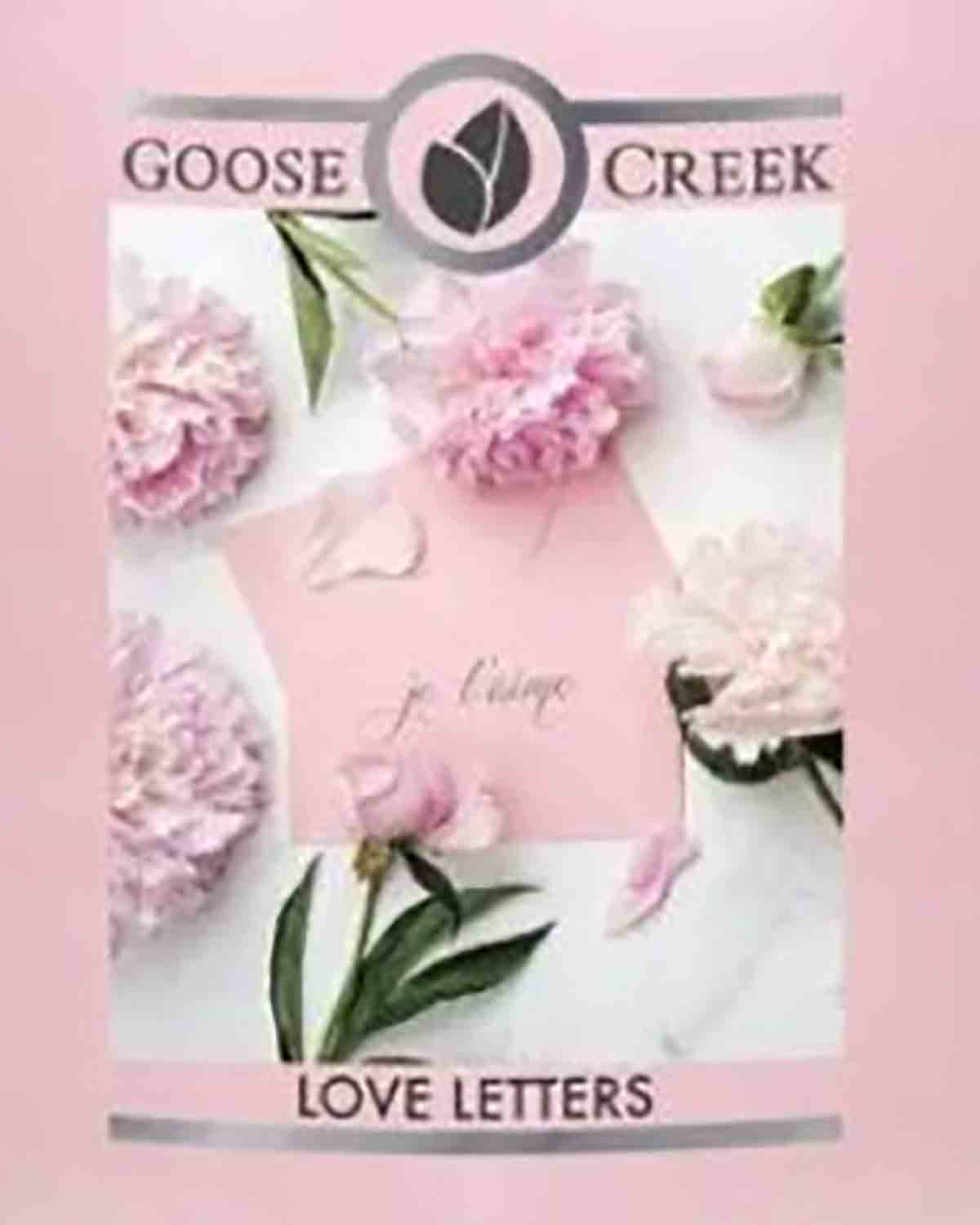Crumble vosk Goose Creek Love Letters 22 g