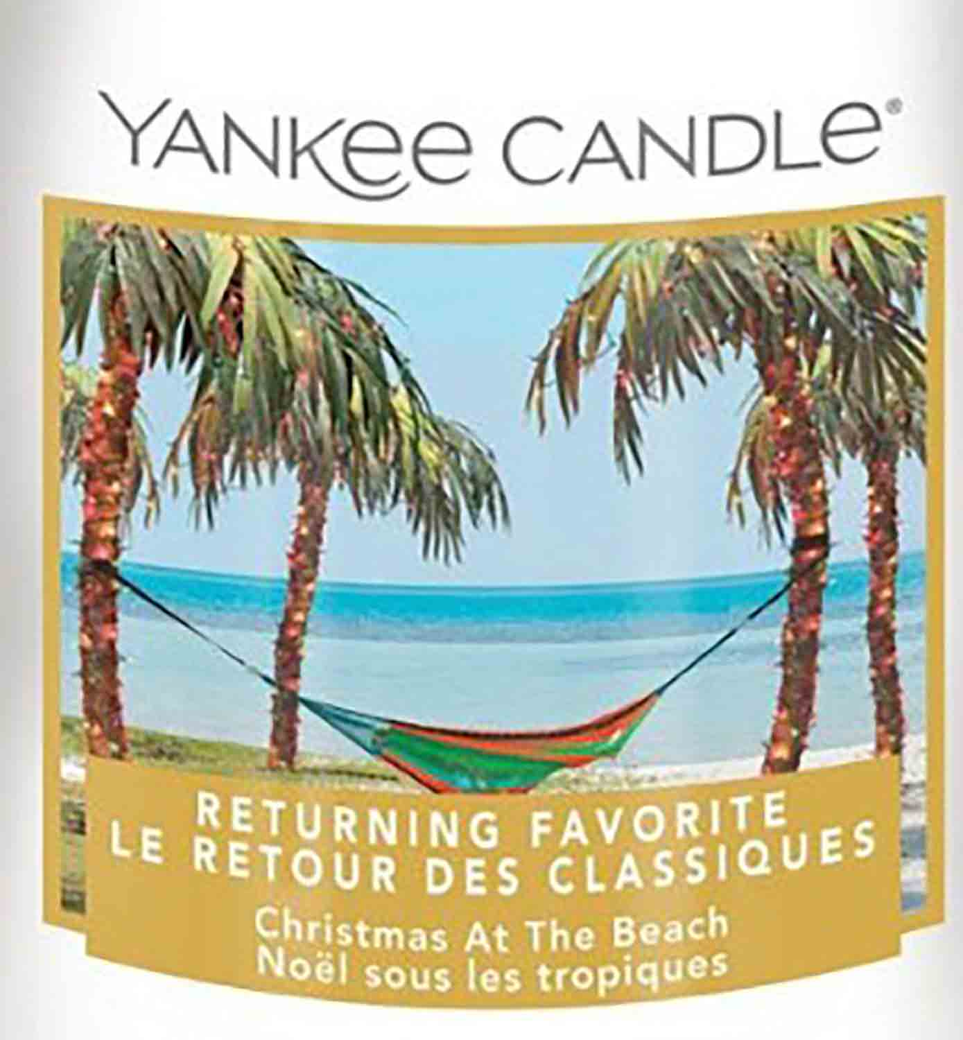 Crumble vosk Yankee Candle Christmas At The Beach USA 22 g