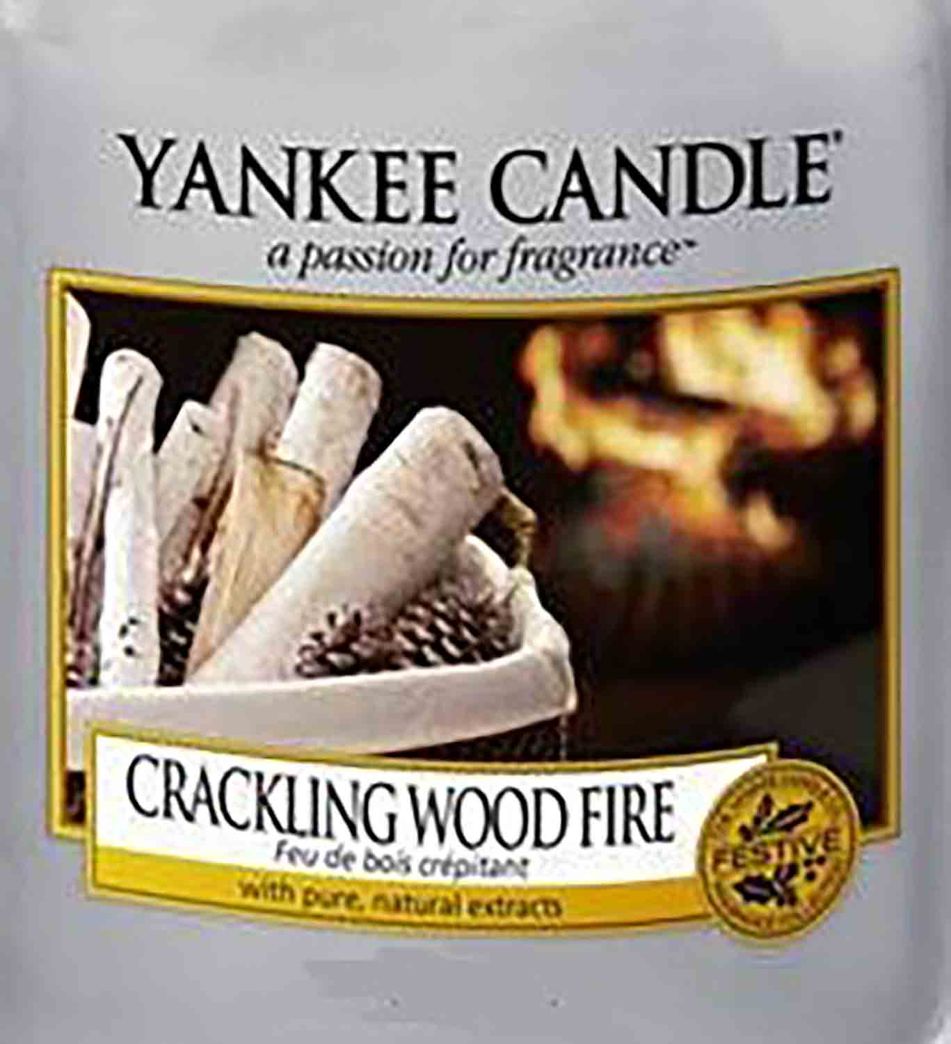 Crumble vosk Yankee Candle Crackling Wood Fire 22g