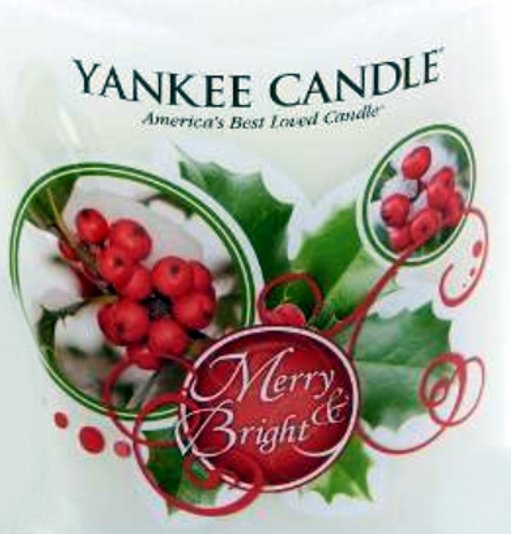 Crumble vosk Yankee Candle Merry and Bright USA 22 g