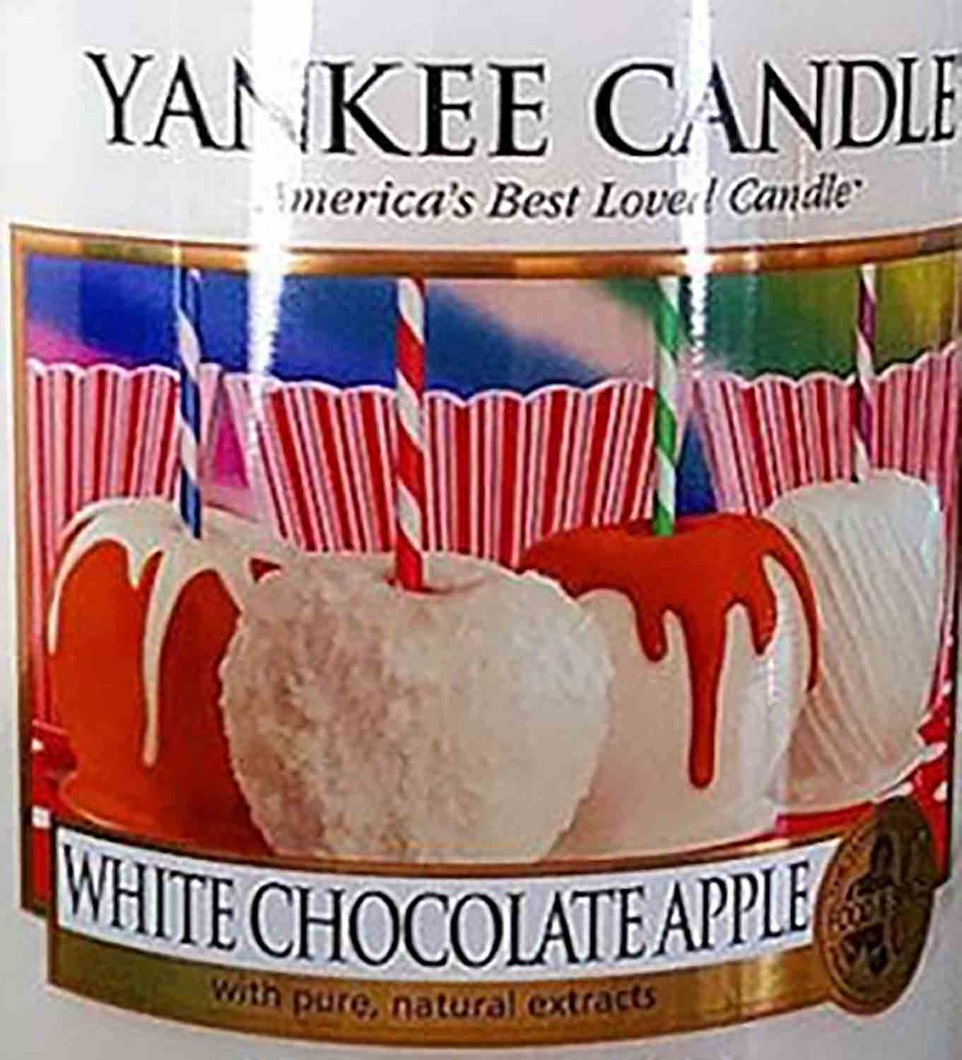 Crumble vosk Yankee Candle White Chocolate Apple USA 22 g