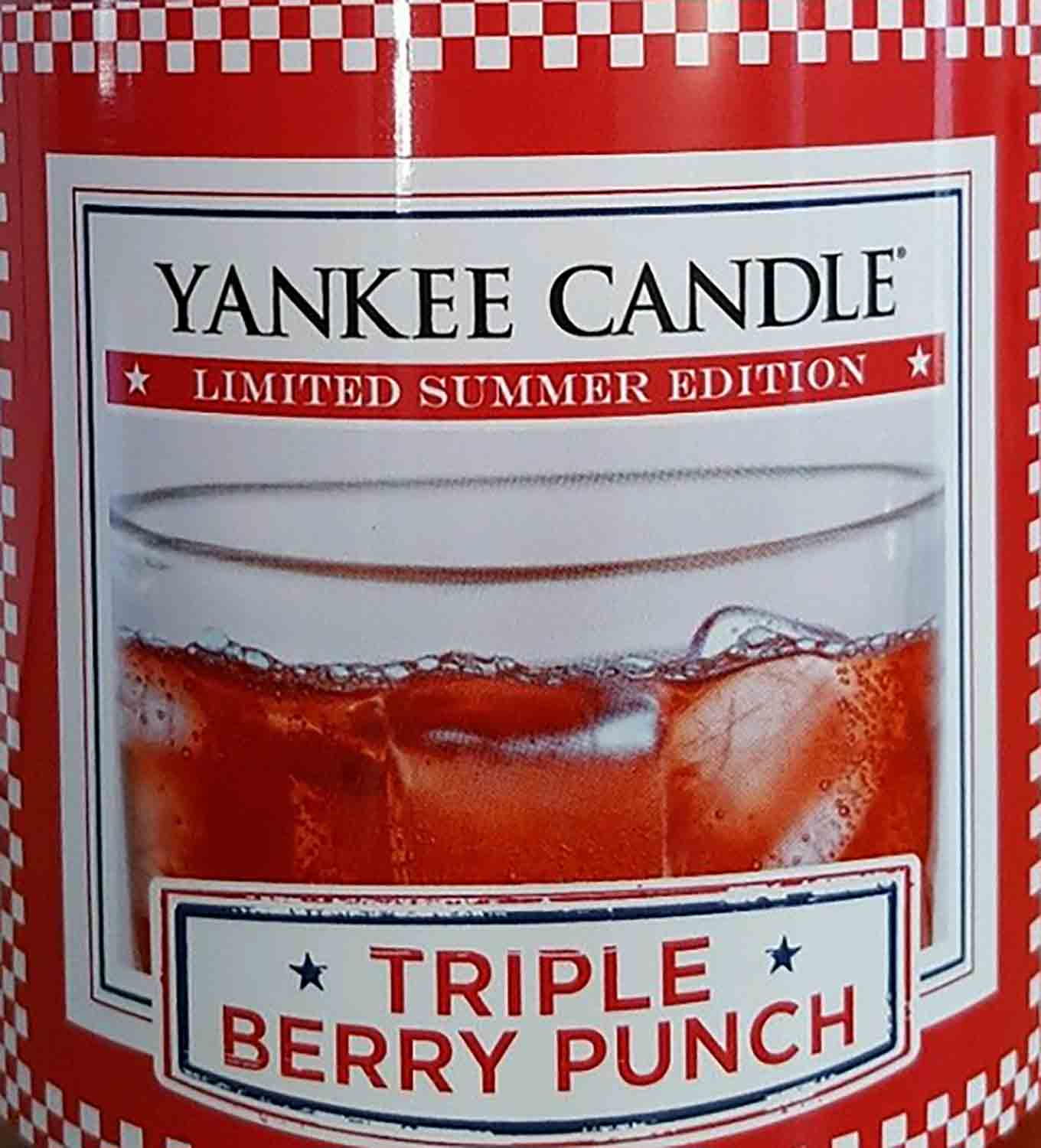 Crumble vosk Yankee Candle Triple Berry Punch USA 22 g