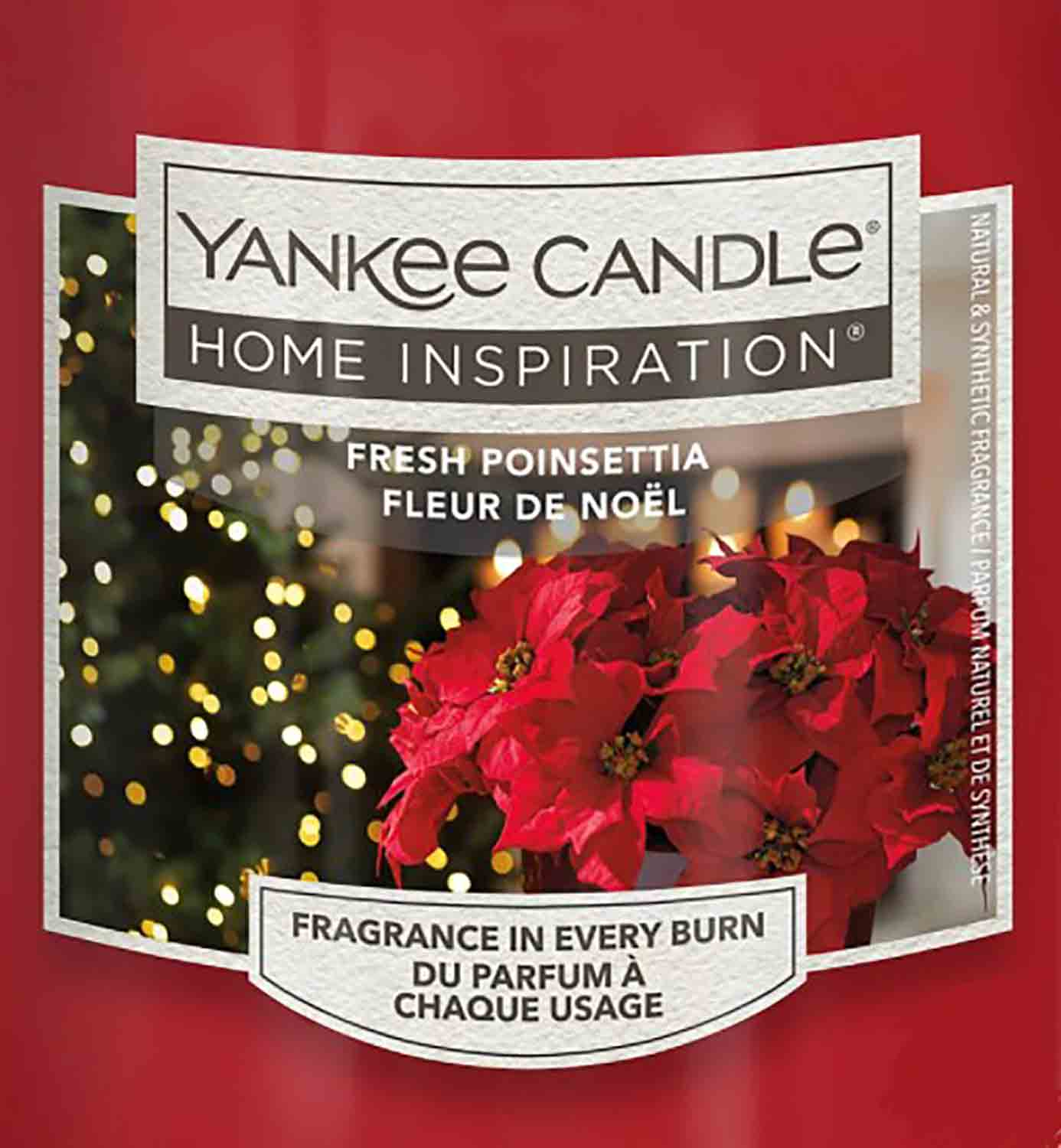 Crumble vosk Yankee Candle Fresh Poinsettia 22g