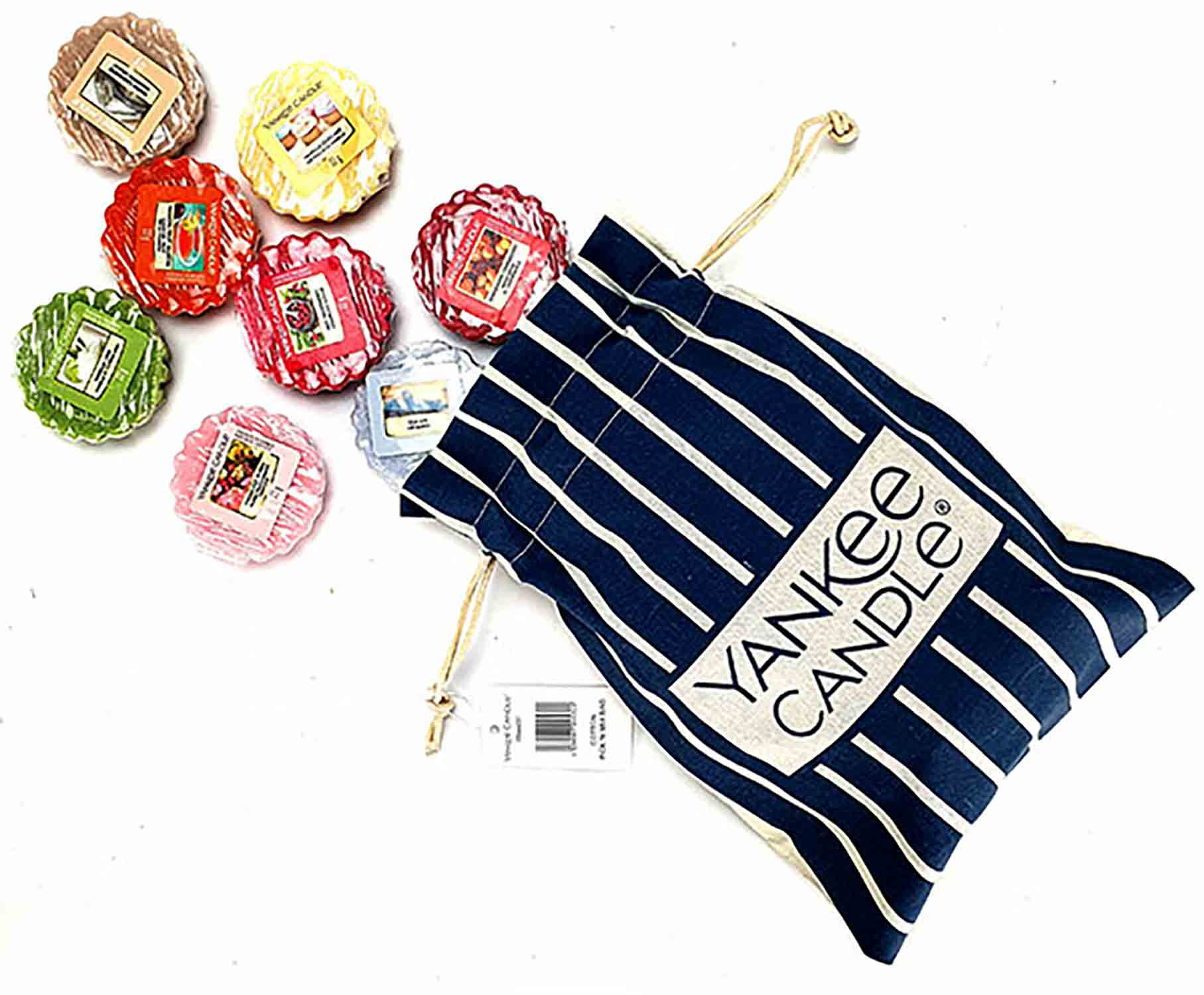 SET Yankee Candle Bag + 8 vosků Yankee Candle