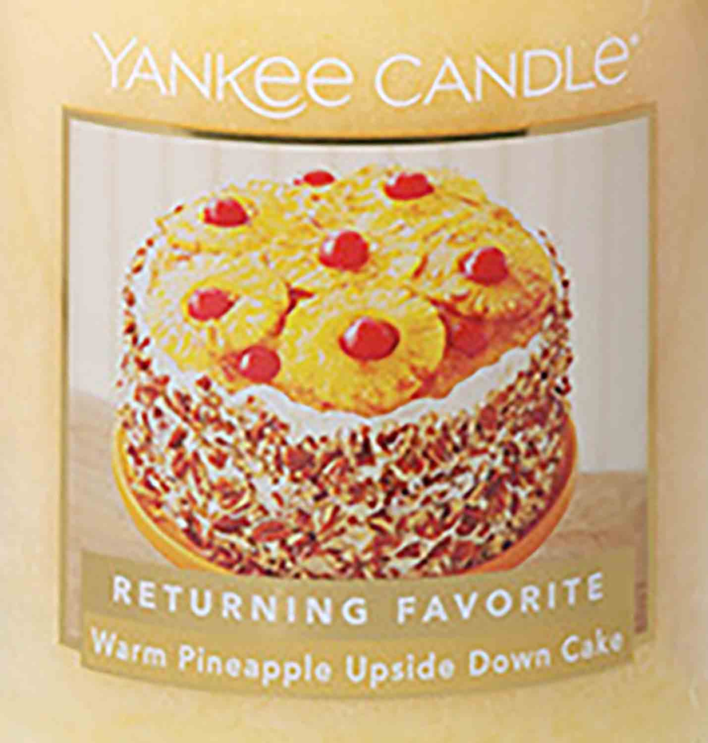 Crumble vosk Yankee Candle Warm Pineapple Upside Down Cake USA 22 g