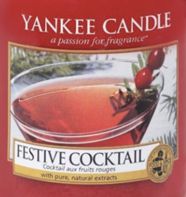 Crumble vosk Yankee Candle Festive Cocktail USA 22 g