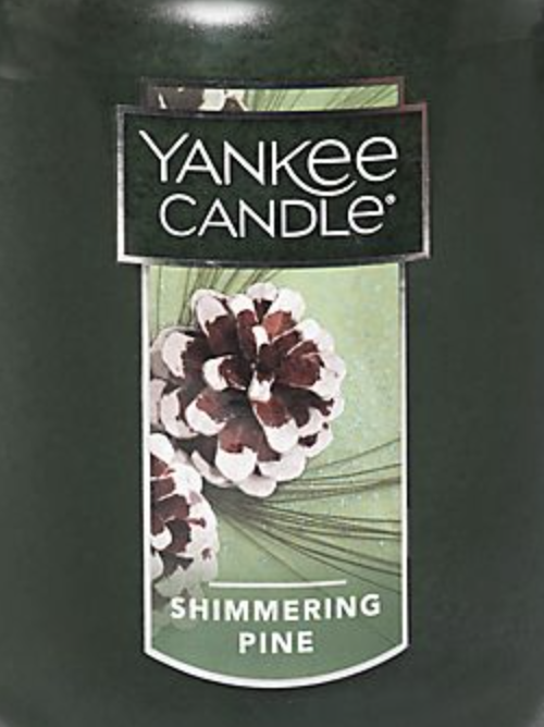 Crumble vosk Yankee Candle Shimmering Pine USA 22 g