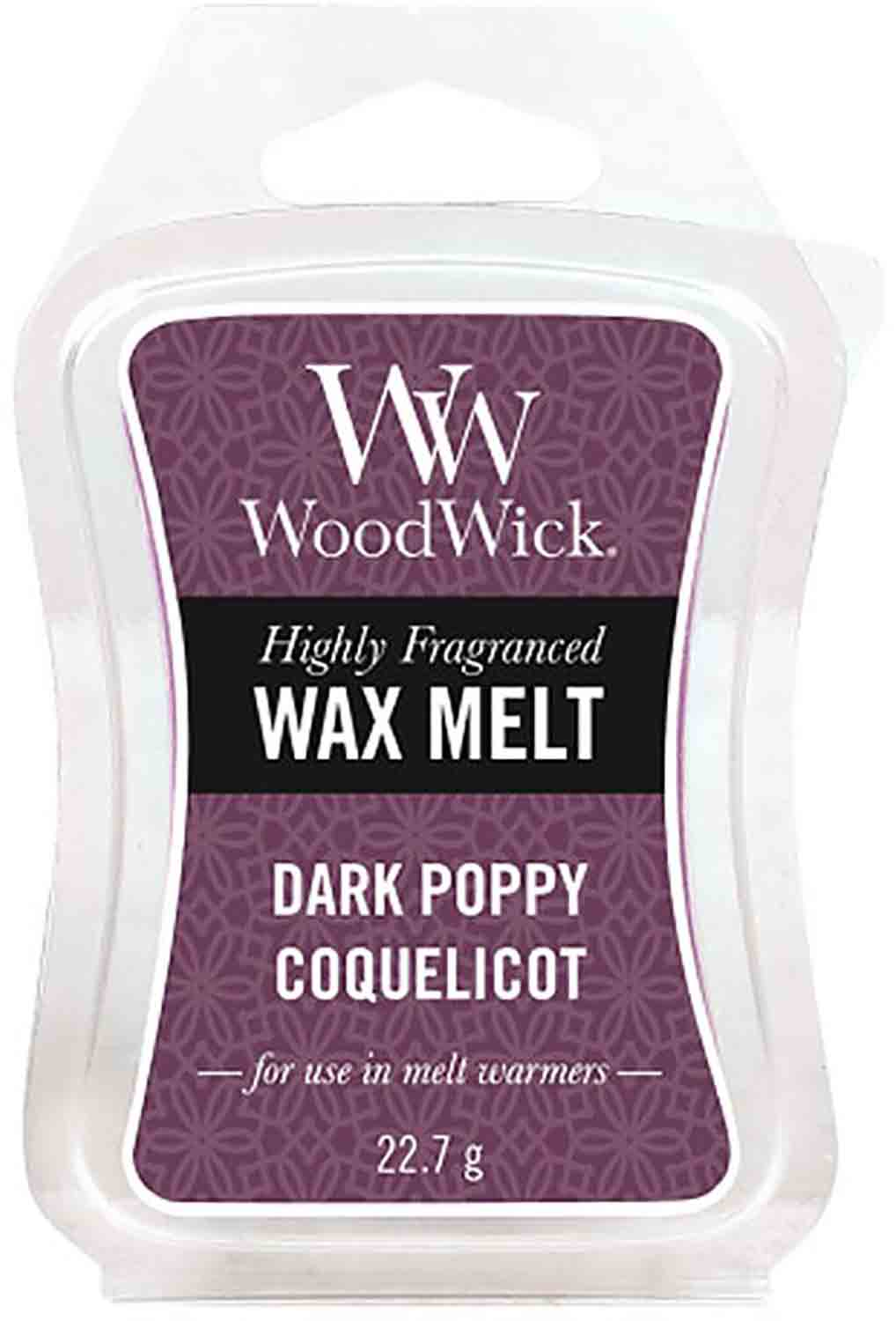 Vonný vosk Wood Wick Dark Poppy 22,7 g