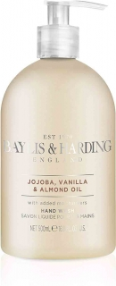 Tekuté mýdlo Baylis & Harding Jojoba, Vanilla and Almond Oil 500ml - vada