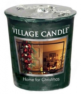 Votivní svíčka Village Candle Home For Christmas 57 g