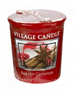Votivní svíčka Village Candle Red Hot Cinnamon 57 g