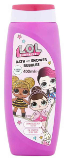 LOL Surprise Bath & Shower Bubbles sprchový gel 400 ml